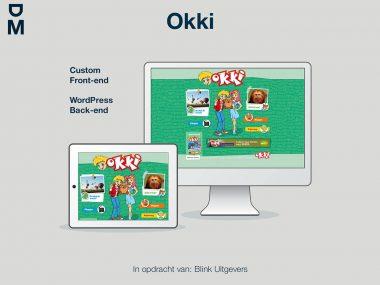 Nieuwe website van Okki