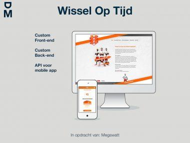 De nieuwe Wissel Op Tijd website is live!