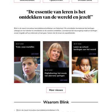 Blink - Homepage