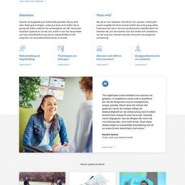 Upendo - Homepage