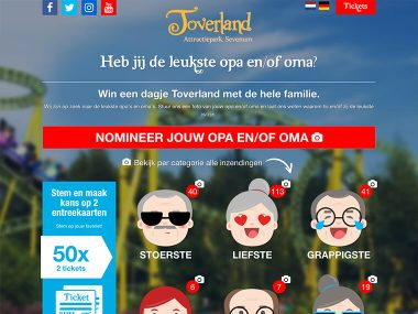 Toverland Opa & Oma actie